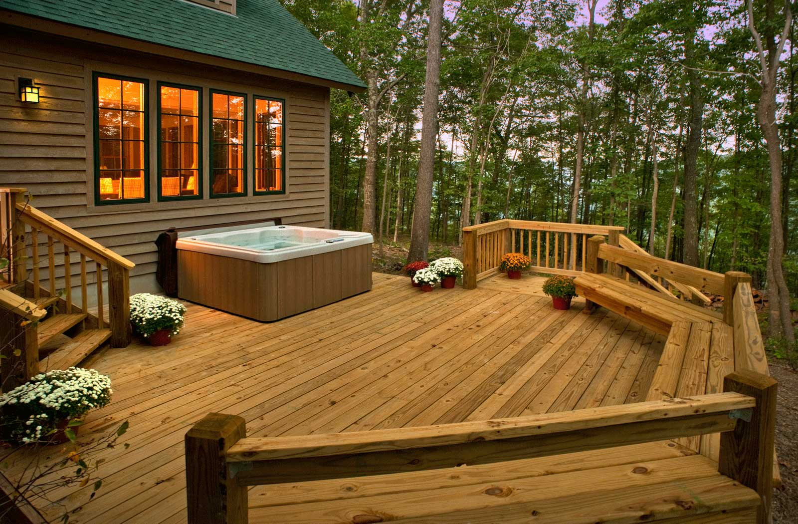 Outdoor Amenities The Paddle House