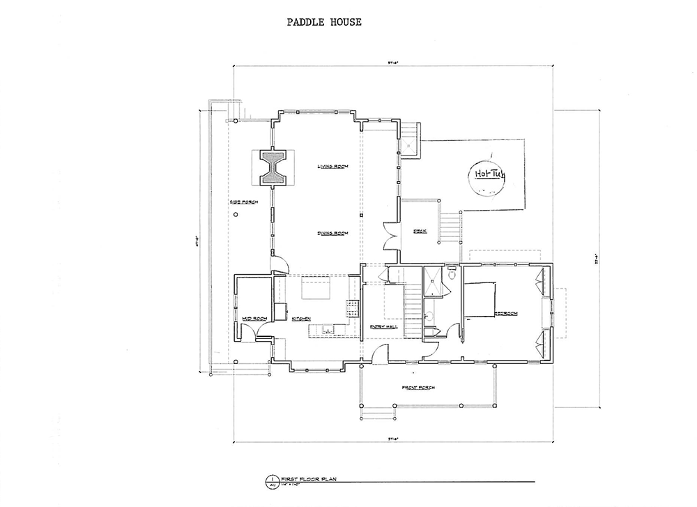 Paddle House 1st Floor Layout