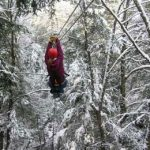 Winter Ziplines - Adventures on the Gorge